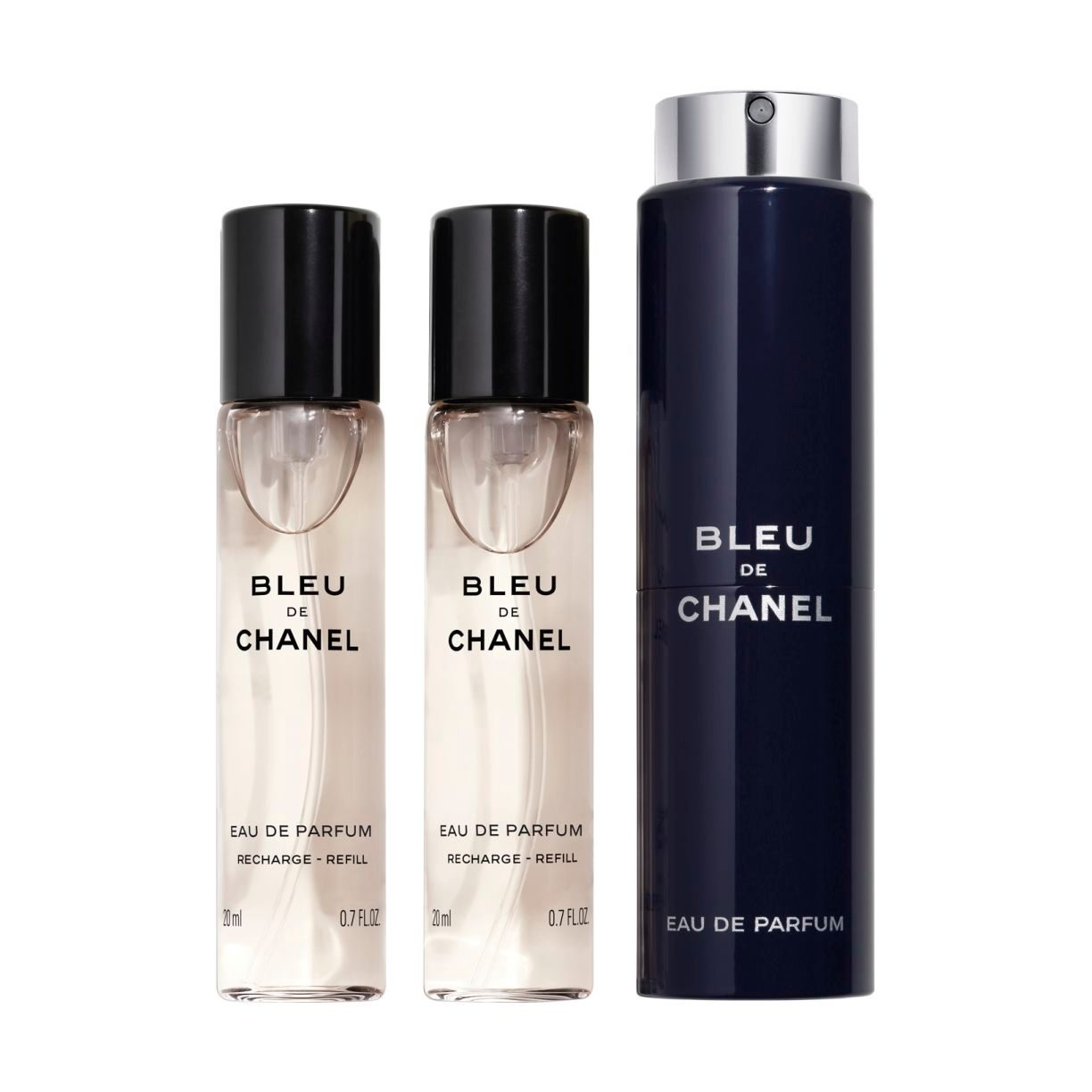 BLEU DE CHANEL EAU DE PARFUM REFILLABLE TRAVEL SPRAY