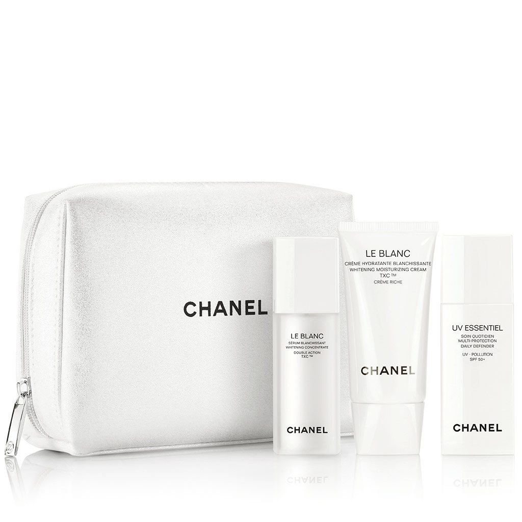 LE BLANC - UV ESSENTIEL THE WHITENING AND PROTECTING SET