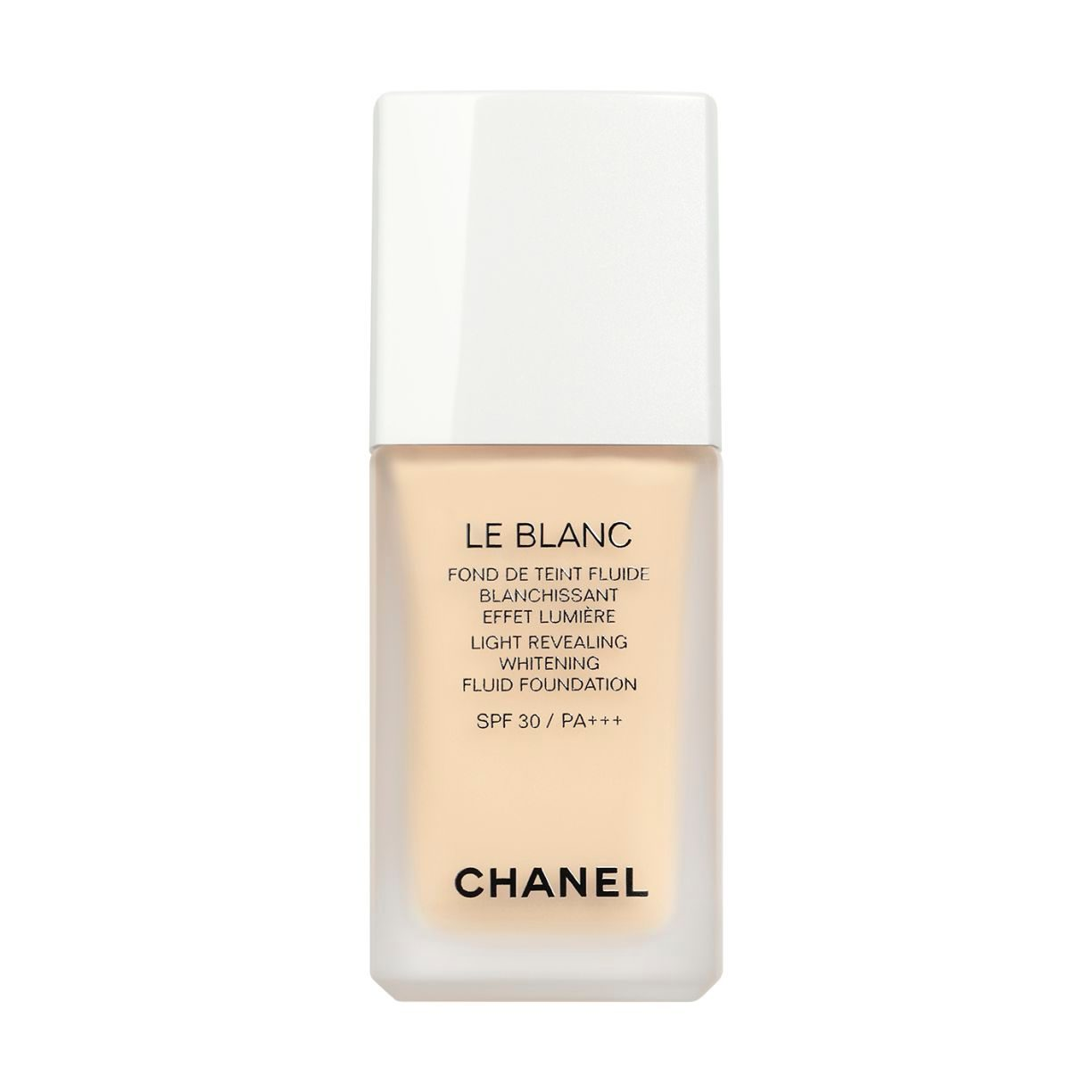 LE BLANC LIGHT REVEALING WHITENING FLUID FOUNDATION SPF 30 / PA+++
