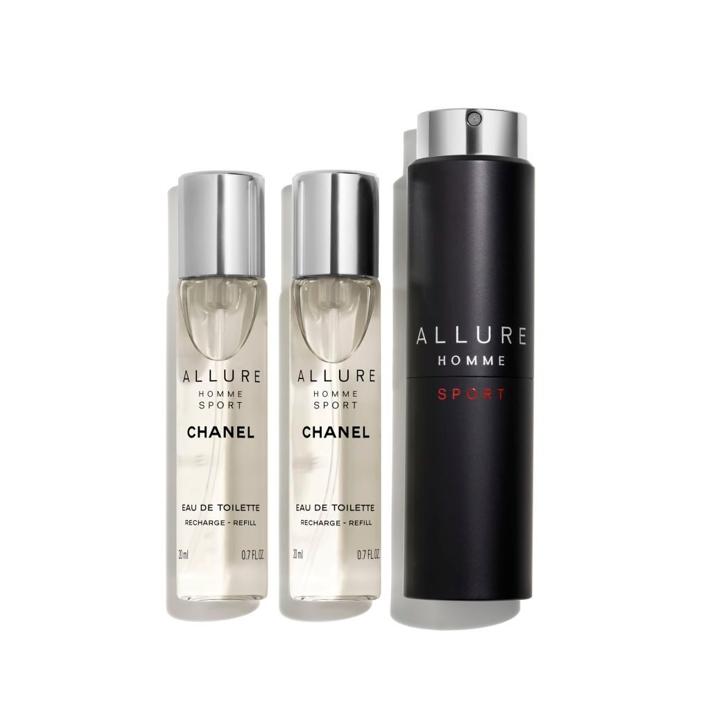 allure homme sport eau de toilette vaporisateur de voyage. Black Bedroom Furniture Sets. Home Design Ideas