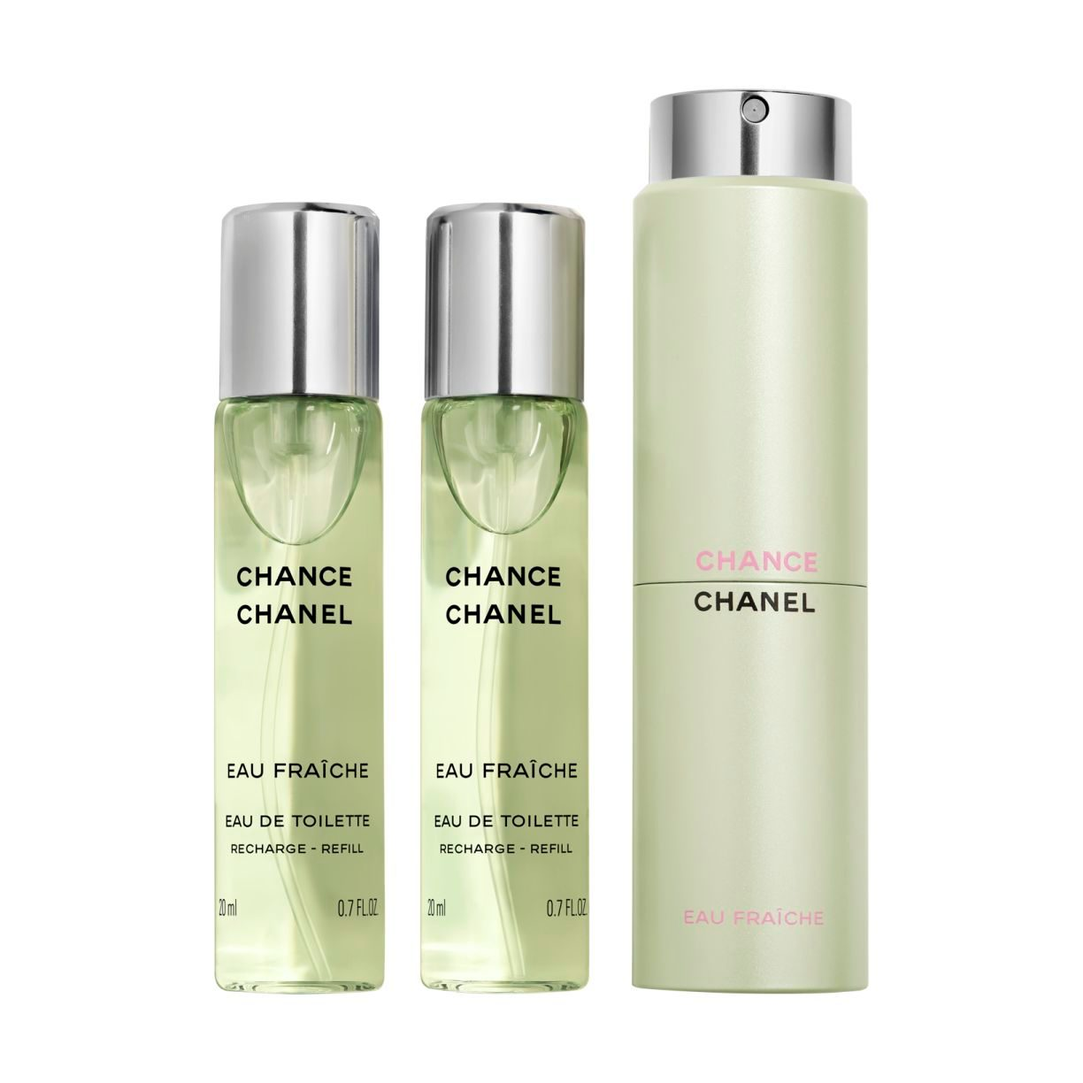 CHANCE EAU FRAÎCHE EAU DE TOILETTE TWIST AND SPRAY 3 X 20ML