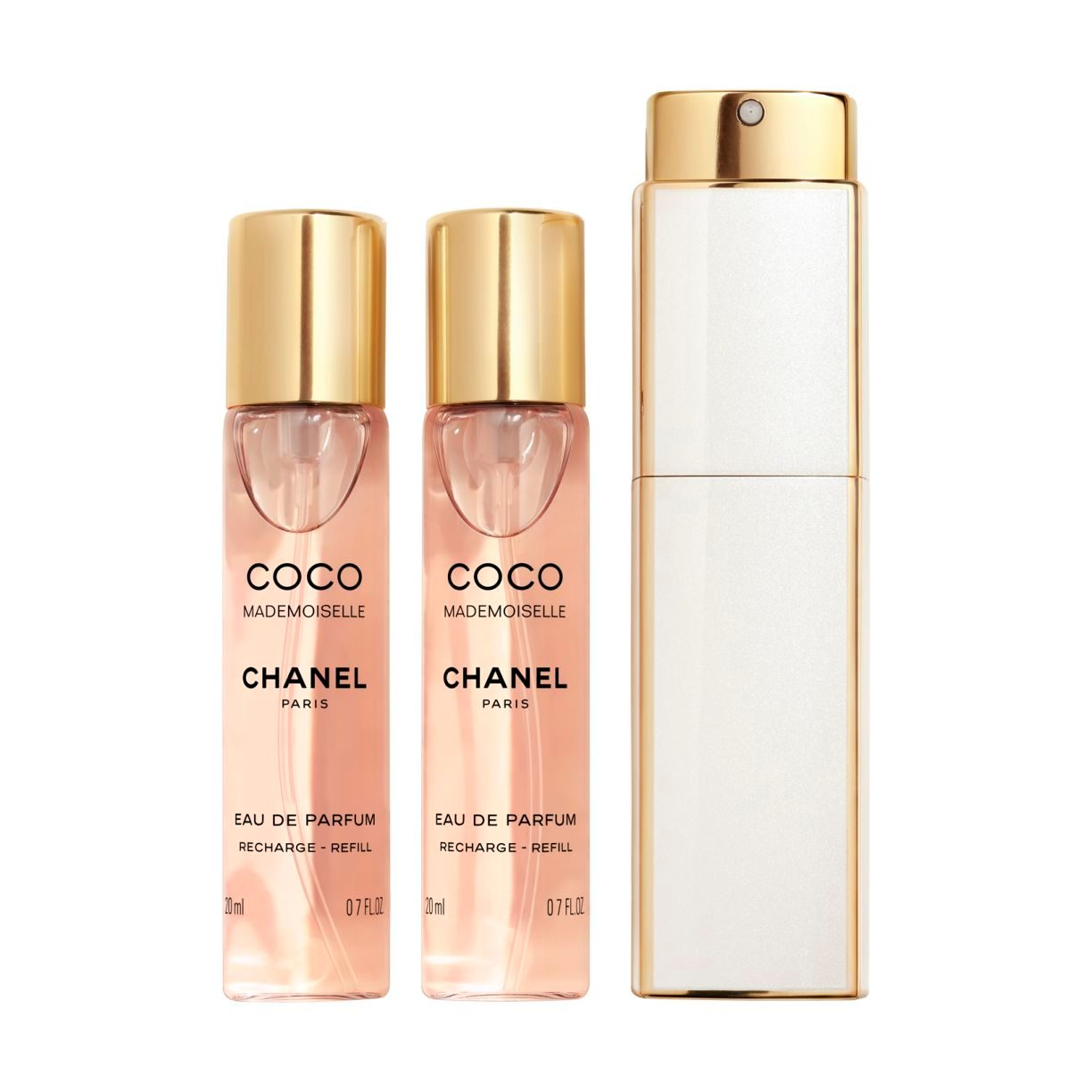 COCO MADEMOISELLE EAU DE PARFUM TWIST AND SPRAY 3 X 20ML
