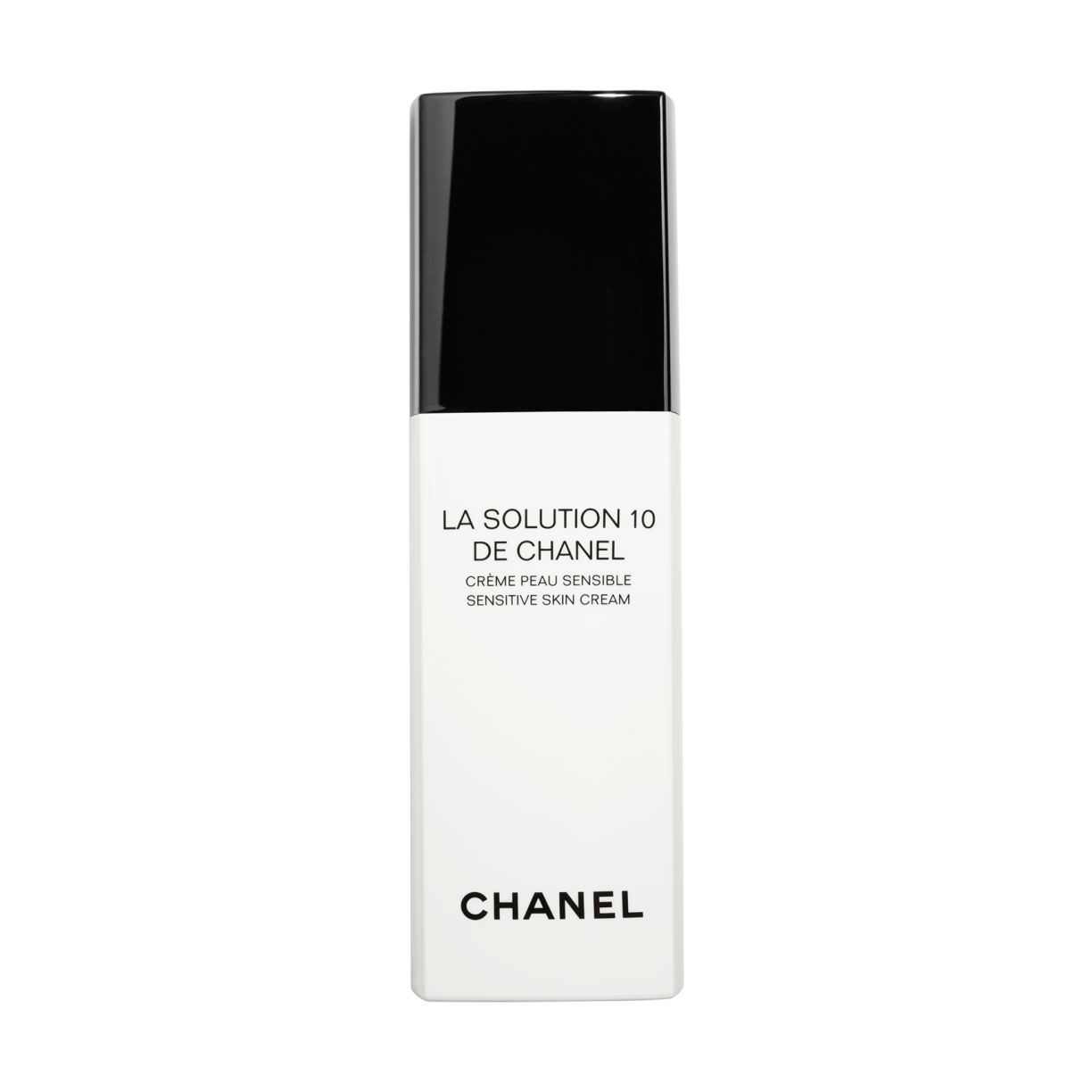 LA SOLUTION 10 DE CHANEL SENSITIVE SKIN CREAM PUMP BOTTLE 30ML