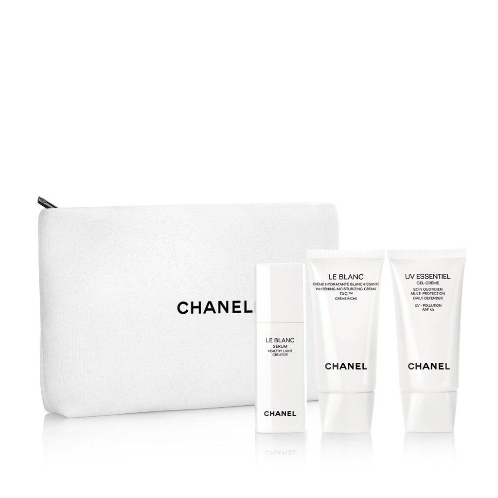 LE BLANC - UV ESSENTIEL HEALTHY LIGHT CREATOR TRAVEL SET