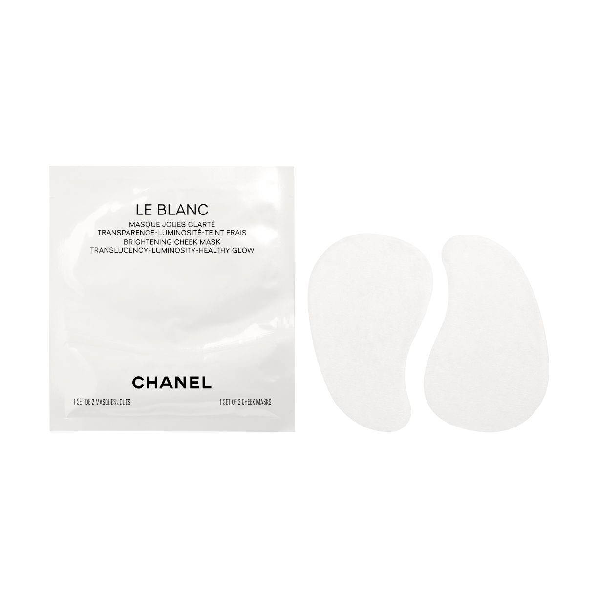 LE BLANC BRIGHTENING CHEEK MASK TRANSLUCENCY - LUMINOSITY - HEALTHY GLOW