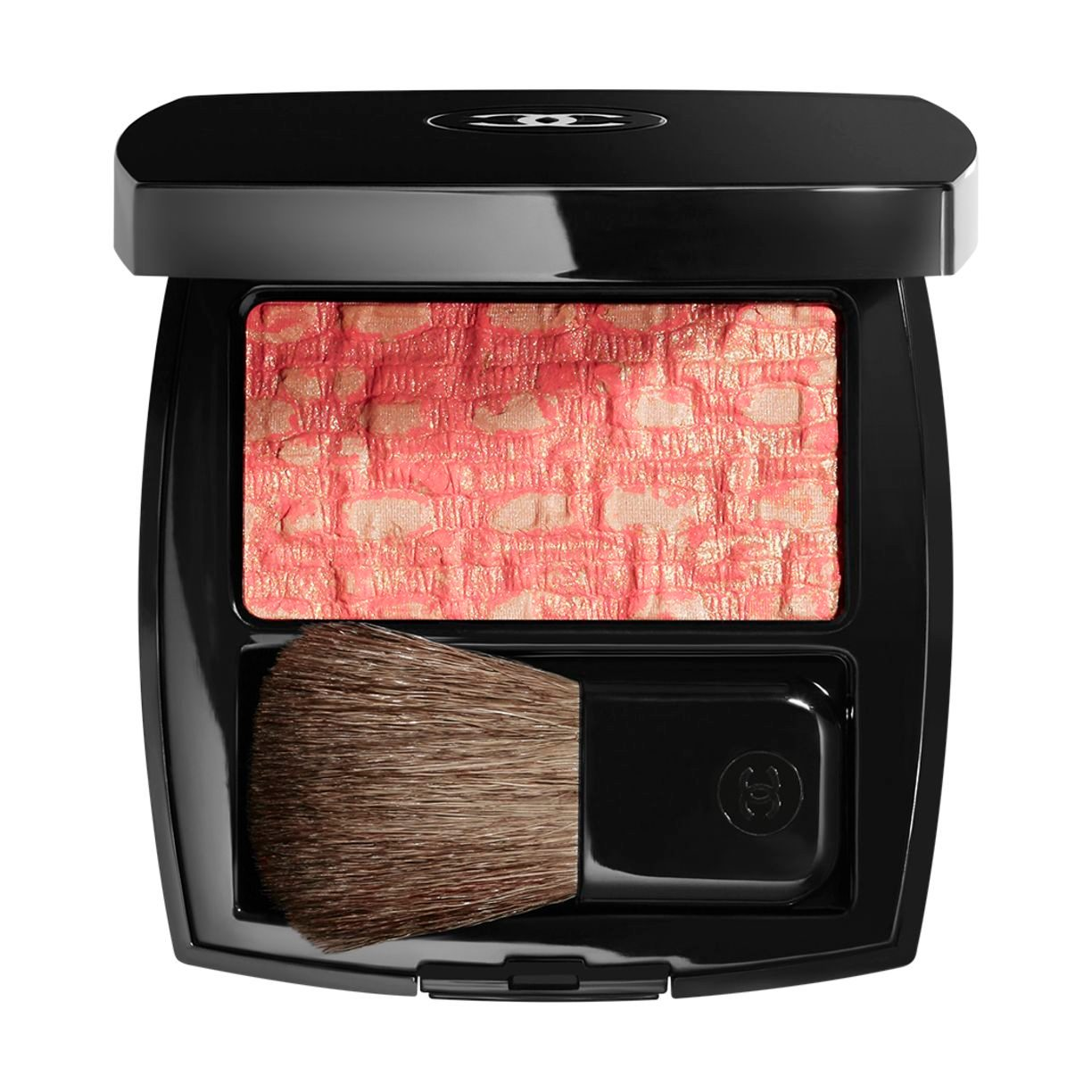 LES TISSAGES DE CHANEL BLUSH DUO TWEED EFFECT