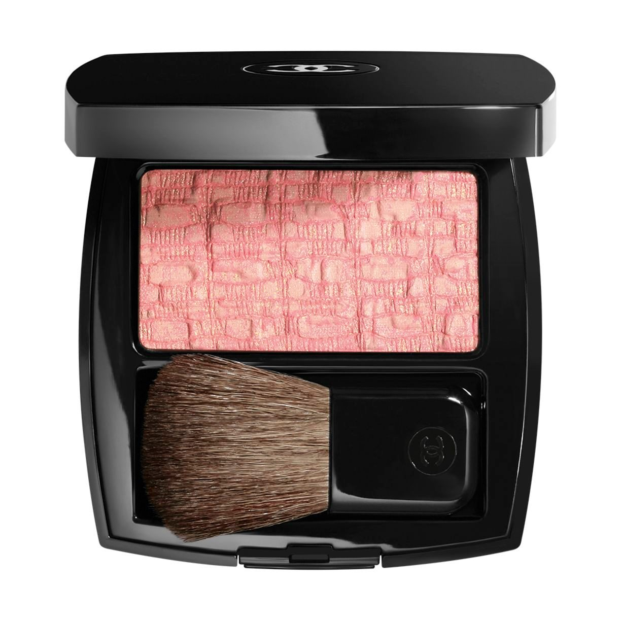 LES TISSAGES DE CHANEL DUO BLUSH MET TWEEDRELIËF
